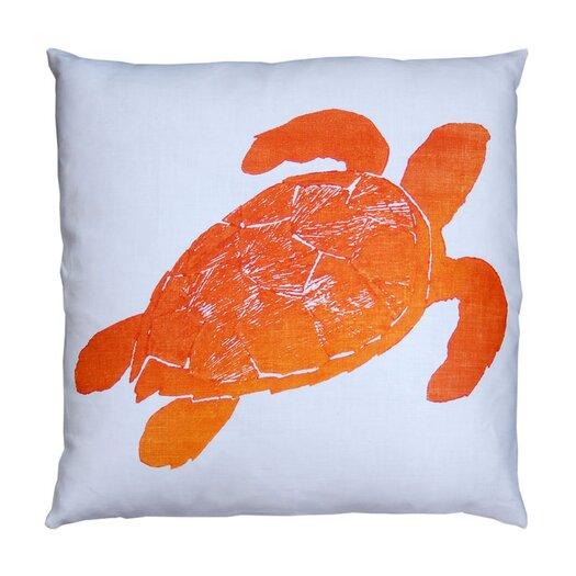 Dermond Peterson Tortuga Linen Throw Pillow