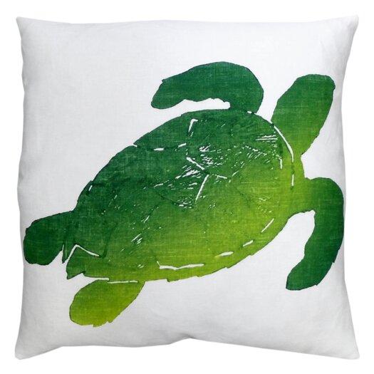 Tortuga Linen Throw Pillow
