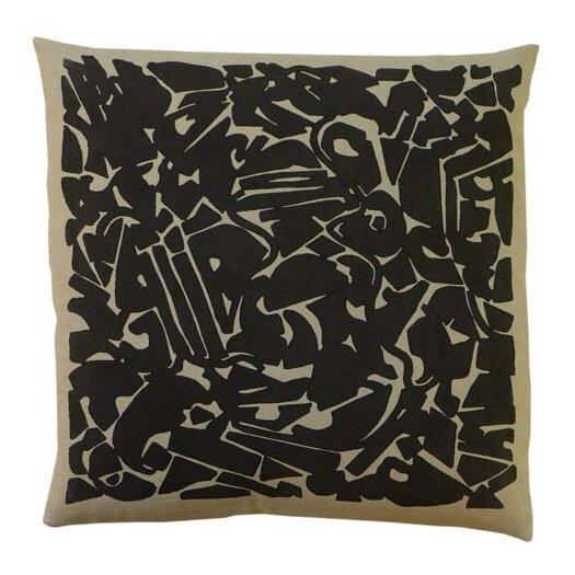 Collage Linen Throw Pillow