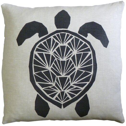 Skandia Sk�ldpadda Linen Throw Pillow