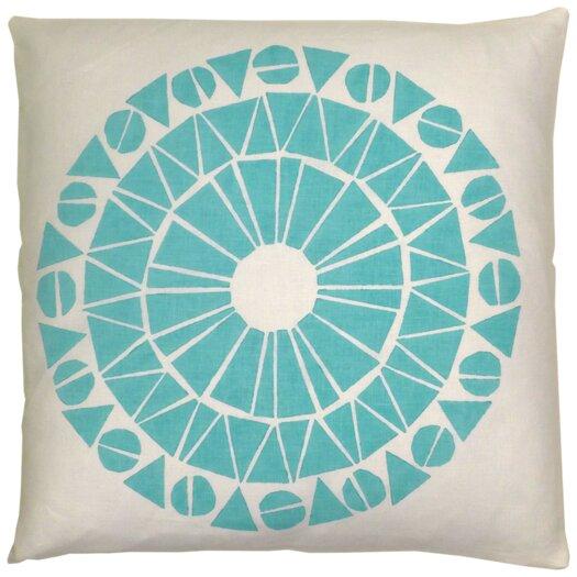 Skandia Cirkel Linen Throw Pillow