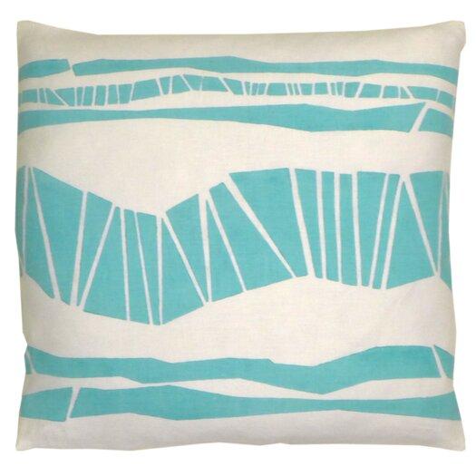 Skandia Randig Linen Throw Pillow