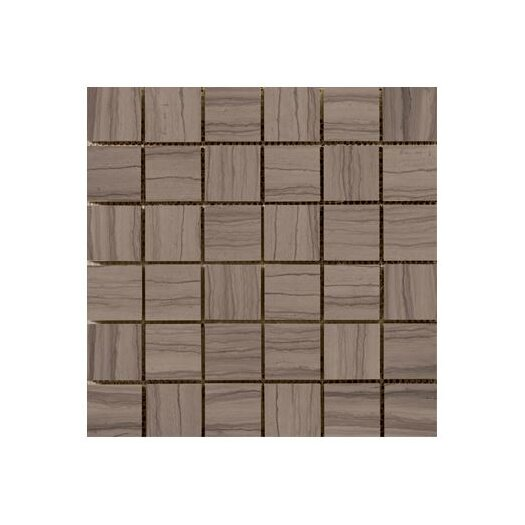 """Emser Tile Metro 2"""" x 2"""" Marble Mosaic Tile in Taupe"""