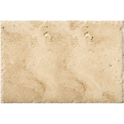"Emser Tile Natural Stone 8"" x 16"" Travertine Field Tile in Umbia Savera"