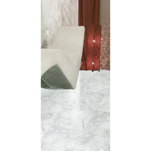 "Emser Tile Bianco Gioia 1"" x 12"" Marble Field Tile in Bianco Gioia OG"