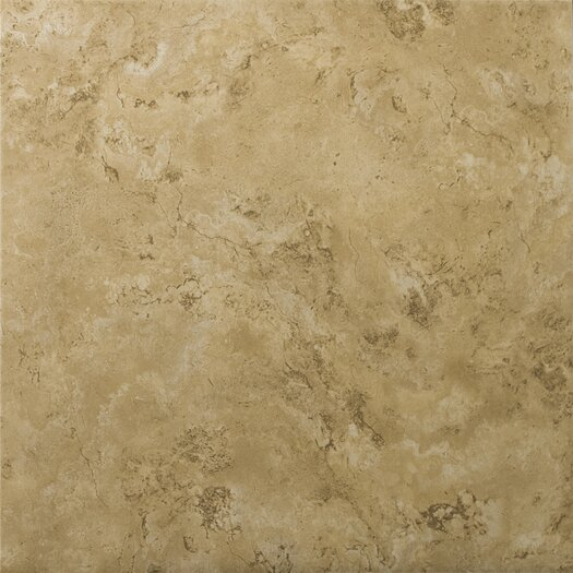 "Emser Tile Cordova 17"" x 17"" Ceramic Field Tile in Noce"