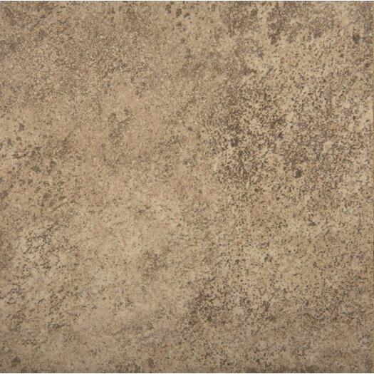 """Emser Tile Toledo 17"""" x 17"""" Ceramic Field Tile in Noce"""