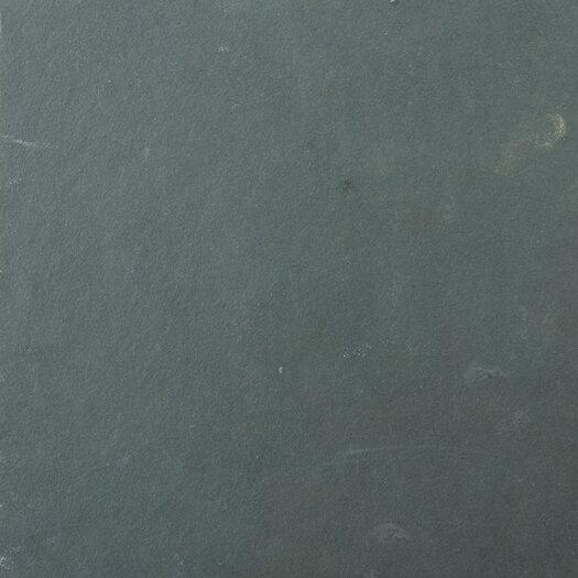 "Emser Tile Natural Stone 16"" x 16"" Slate Field Tile in Brazilian Black"