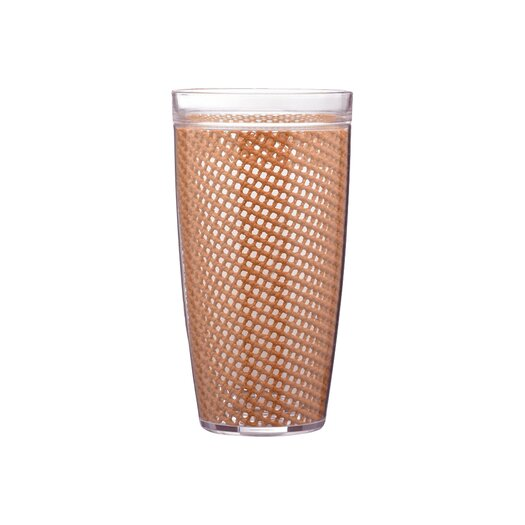 Kraftware Fishnet Double Wall Insulated Tumbler