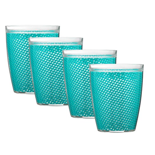 Kraftware Fishnet Double Wall Insulated Tumbler II