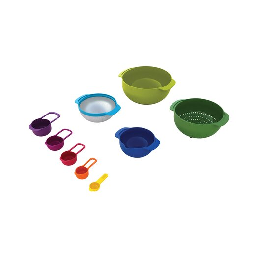 Joseph Joseph Nest 9 Piece Mixing Bowl Set