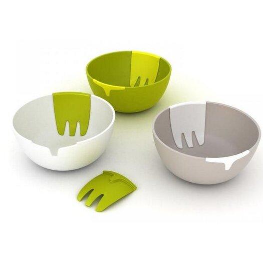 "Joseph Joseph Hands-On 11"" Salad Bowl and Servers"