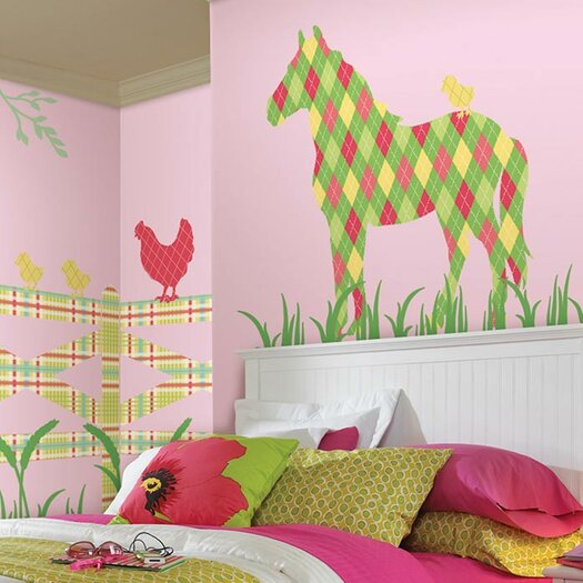 WallPops! WallPops Kits ZooWallogy Addison The Horse Wall Decal