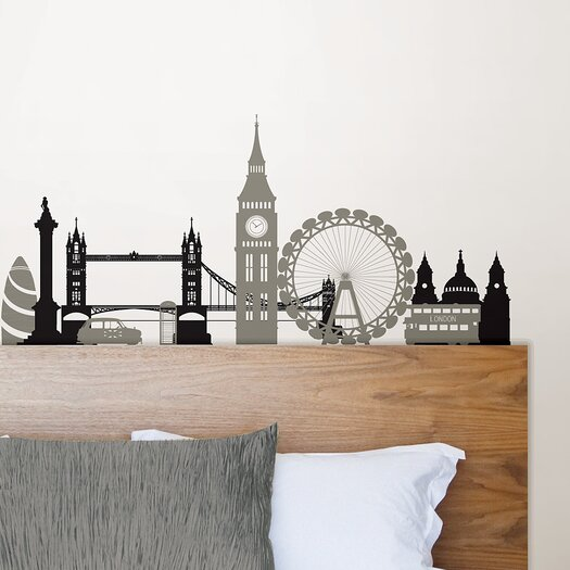 WallPops! Wall Art Kit London Calling Small Wall Decal
