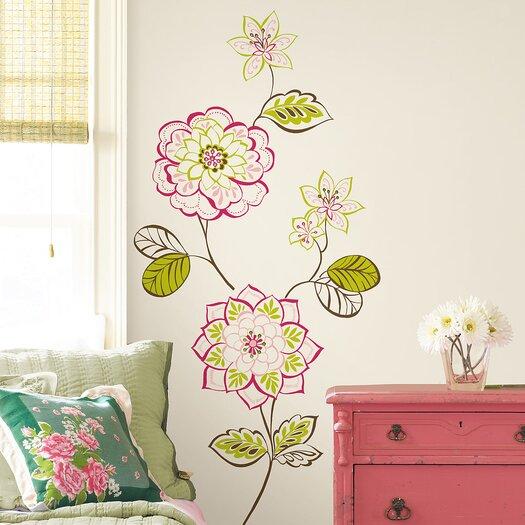 WallPops! WallPops Kits Sheets Des Fleurs Wall Decal