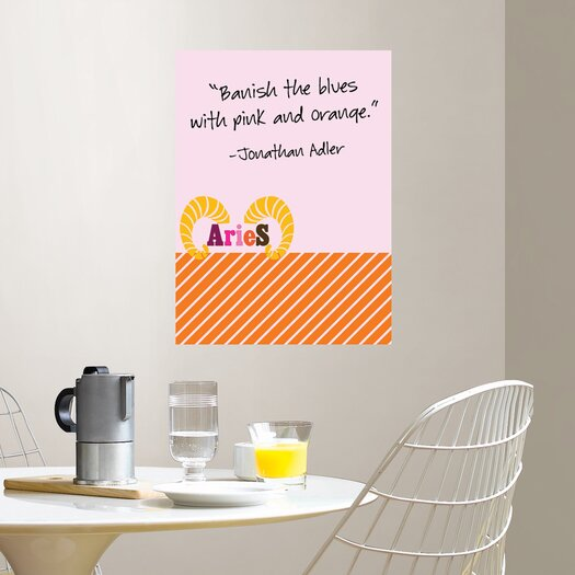 WallPops! Jonathan Adler Aries Message Board Wall Decal
