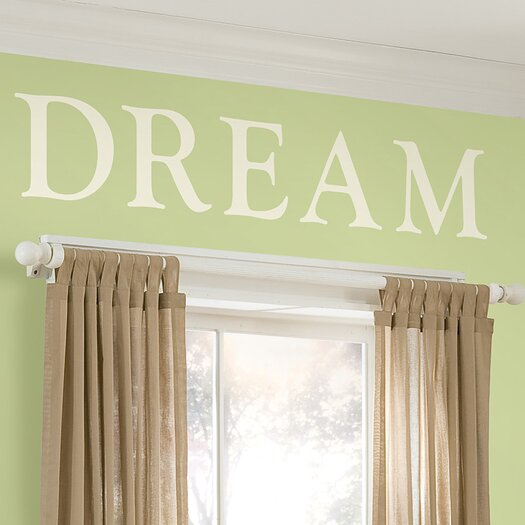 WallPops! WallPops Baby Sheets Southampton Ivory Monogram and Alphabet Wall Decal