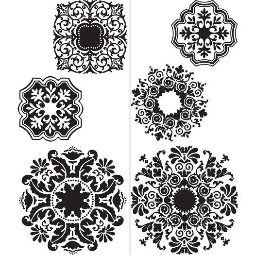 WallPops! WallPops Kits 6 Piece Baroque Wall Decal Set