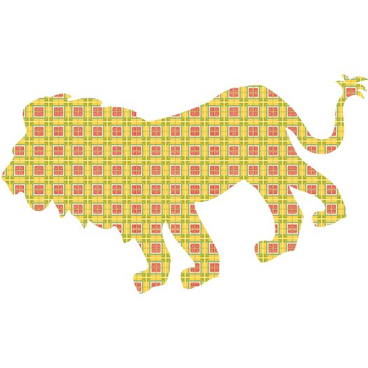 WallPops! WallPops Kits ZooWallogy Ozzie The Lion Wall Decal