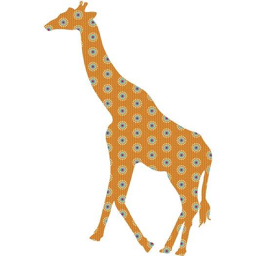 WallPops! WallPops Kits ZooWallogy Riley The Giraffe Wall Decal
