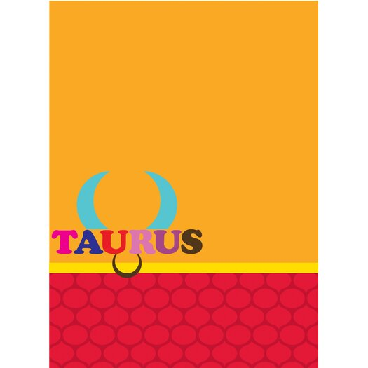 WallPops! Jonathan Adler Taurus Message Board Wall Decal