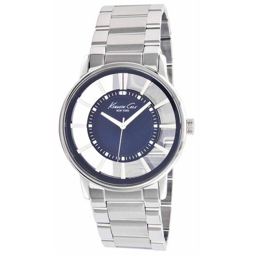 Kenneth Cole Men's Transparency Bracelets Watch in Blue Marine