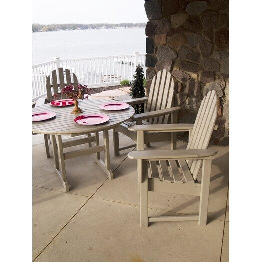 POLYWOOD® Adirondack 5 Piece Dining Set