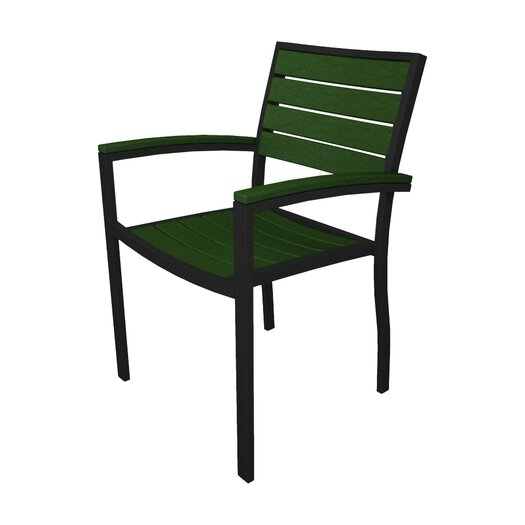 POLYWOOD® Euro Dining Arm Chair