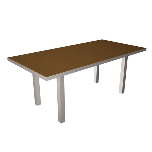 POLYWOOD® Euro Rectangle Dining Table