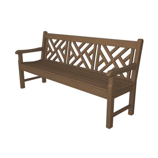POLYWOOD® Rockford Plastic Garden Bench