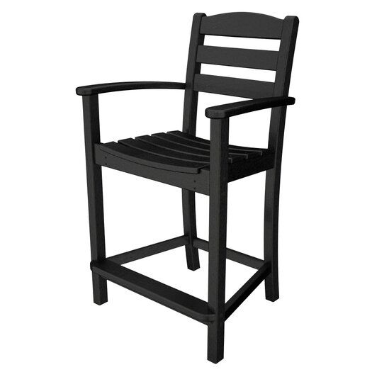 "POLYWOOD® La Casa Cafe 24.13"" Bar Stool"