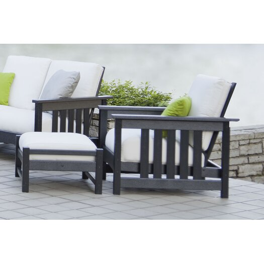 POLYWOOD® Mission 8 Piece Deep Seating Group