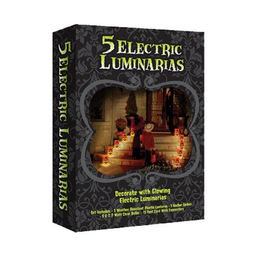 Luminarias Electric Pumpkin Luminaria Kit
