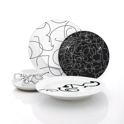 notNeutral Letters Dinnerware Collection