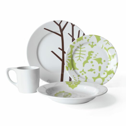 notNeutral Season 16 Piece Dinnerware Set
