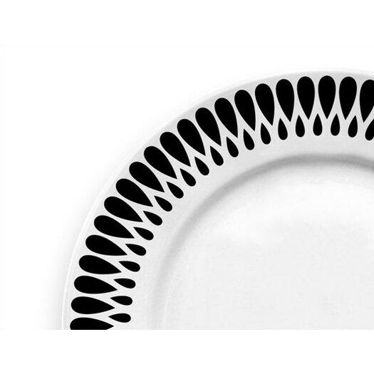 """notNeutral Ribbon 10.5"""" Dinner Plate"""