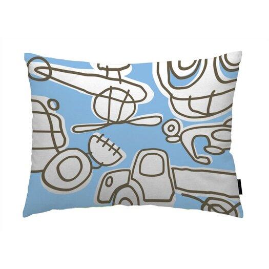 notNeutral Home Accessories Transport Cotton Lumbar Pillow