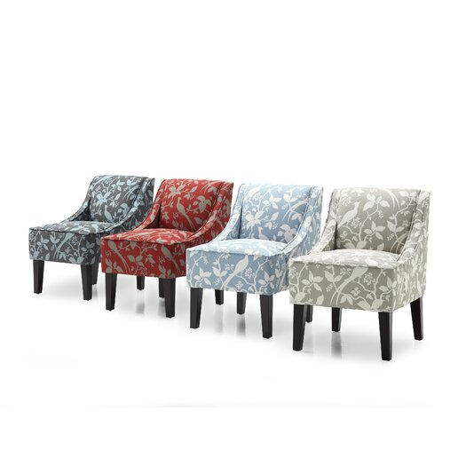 DHI Marlow Bardot Swoop Slipper Chair