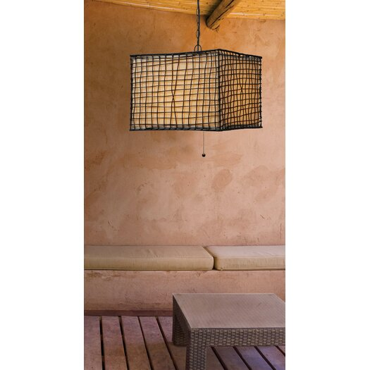 Wildon Home ® Blossom 1 Light Outdoor Hanging Pendant