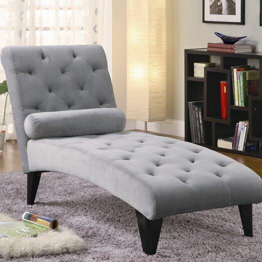 Wildon Home ® Blair Velour Chaise Lounge