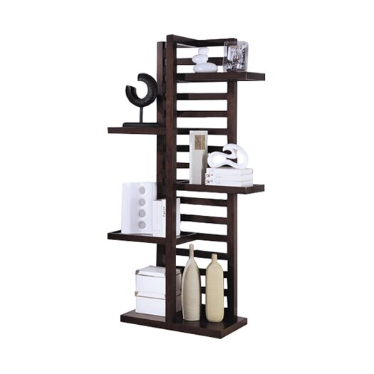 "Wildon Home ® Watsonville 78.5"" Accent Shelves Bookcase"