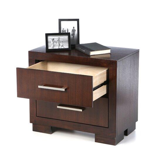 Wildon Home ® Bay 2 Drawer Nightstand
