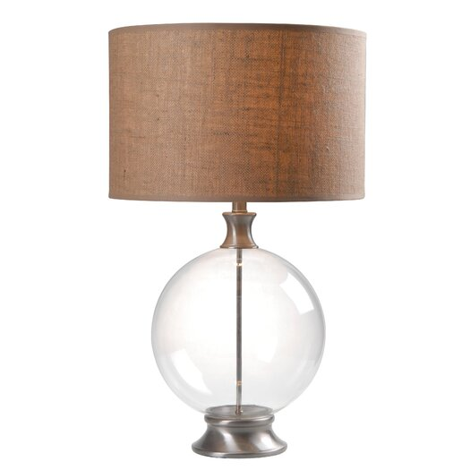 """Wildon Home ® Constellation 29"""" H Table Lamp with Drum Shade"""