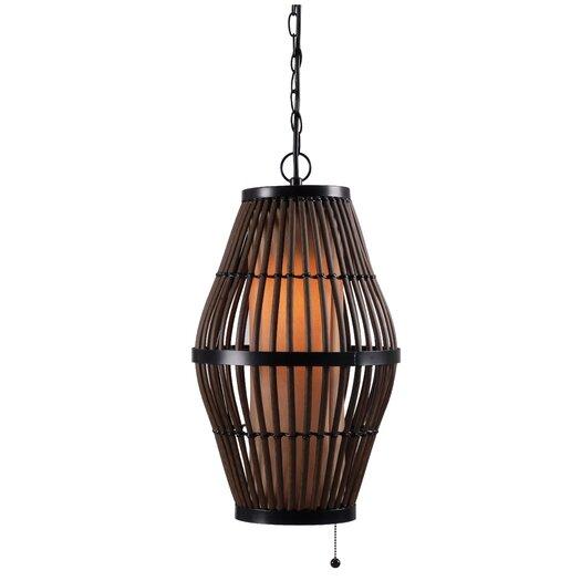 Wildon Home ® Biscayne 1 Light Outdoor Hanging Lantern/Pendant