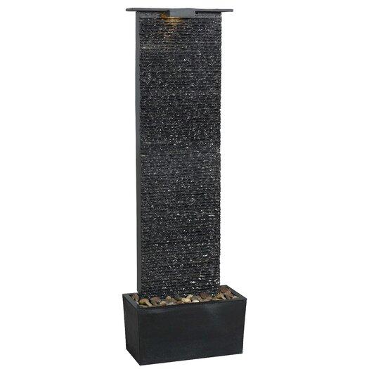 Wildon Home ® Bedrock Falls Slate Floor Fountain