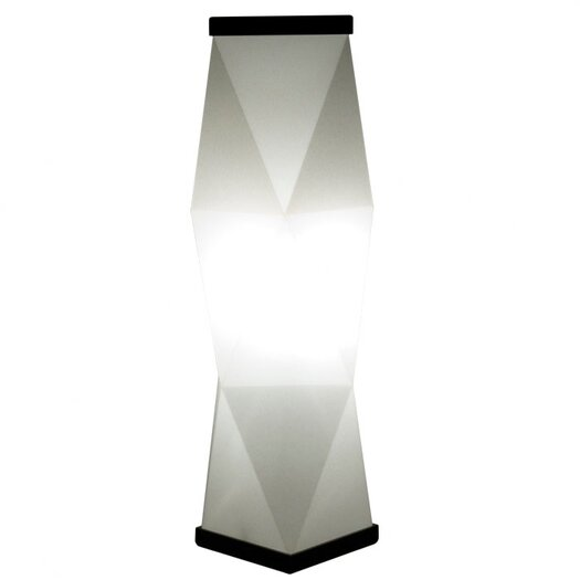 Roland Simmons Trovato Diamond Table Lamp with Novelty Shade