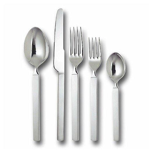 Alessi dry by achille castiglioni 5 piece flatware set reviews allmodern - Alessi flatware sale ...