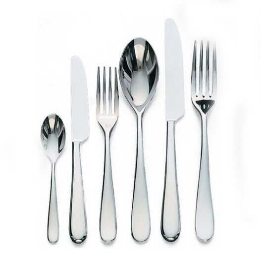 Alessi Nuovo Milano by Ettore Sottsass 6 Piece Flatware Set