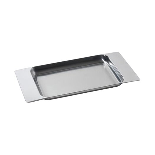 Alessi Programma 8 by Sargiani and Helander Rectangular Serving Tray