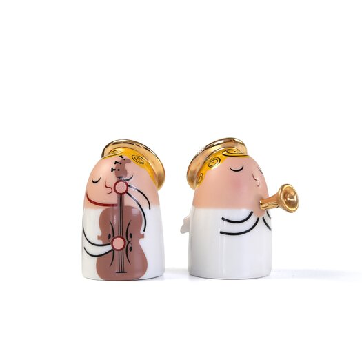 Alessi Angels Band Figurines (Set 1 of 2)